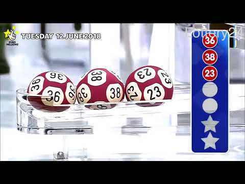 2018 06 12 Euro Millions Number and draw results