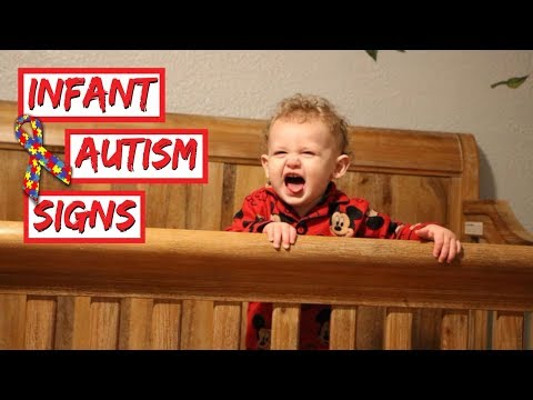 EARLY SIGNS OF AUTISM IN INFANTS + BABIES