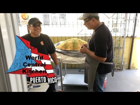 Working with World Central Kitchen in Puerto Rico