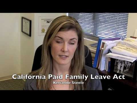 California Paid Family Leave Act