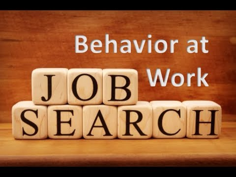 Job Search Skills - Behavior in the Workplace - Attitude and Positivity Go a Long Way at Your Work