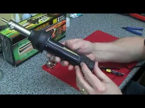 eBay Cheapo Hot Air Gun for SMD work. Deadly!