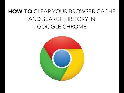 How do I clear my Internet browser history in Chrome?