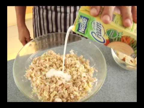 Nestle D'Lite Cream Recipes: Creamy Tuna Spread