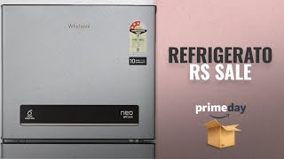 Save Big On Refrigerators Prime Day 2018 Deals: Whirlpool 292 L 3 Star Frost-Free Double-Door