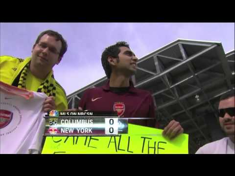 Indian guy travel to Columbus (Ohio) to see Thierry Henry
