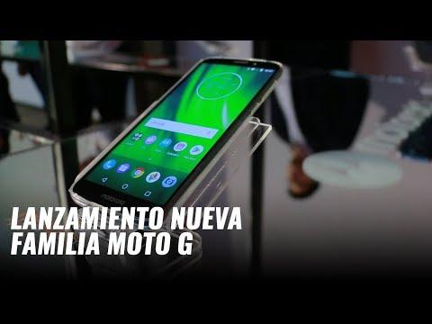 Moto G6, Moto G6 Play y Moto G6 Plus, presentación en México