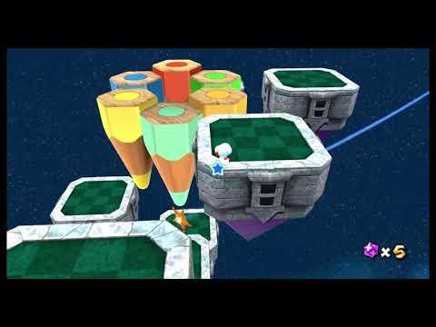 Super Mario Galaxy Custom Level - Don't shake before thinking