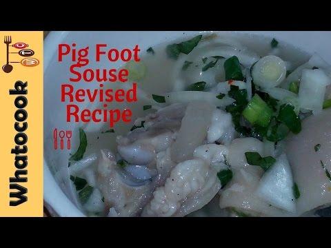 Trinidad 🇹🇹 Pig 🐖 Foot Souse - Recipe #2