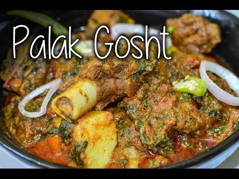 Palak Gosht Recipe By Chef Shaheen