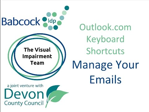 Outlook.com- Keyboard Shortcuts To Manage Your Emails