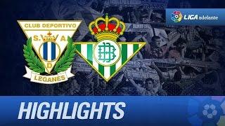 Resumen de CD Leganés (1-0) Real Betis - HD