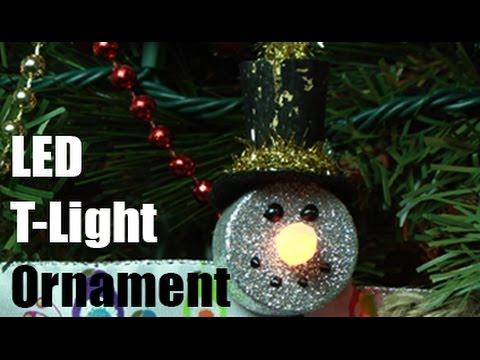 LED Tea Light Ornament