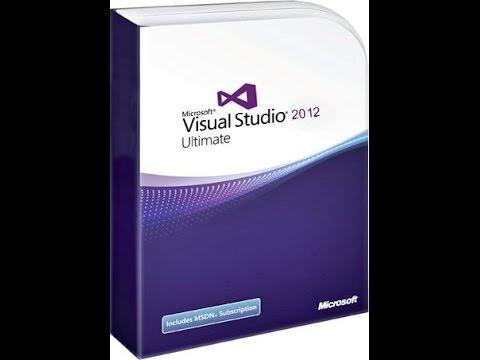 طريقه تحميل و تنصيب برنامج visual studio ultimate 2012
