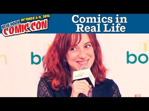 Comics in Real Life Panel | New York Comic Con 2016