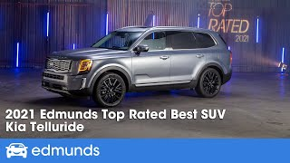 2021 Kia Telluride: Edmunds Top Rated SUV | Edmunds Top Rated Awards 2021