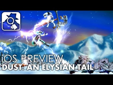 A PERFECT PORT? | Dust: An Elysian Tail iPhone & iPad preview