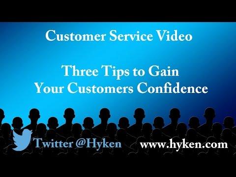 Customer Service Expert: Three Ways to Create Customer Confidence