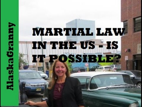 Martial Law In The US