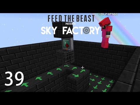 Sky Factory 3 w/ xB - RESTURBED MOB SPAWNER [E39] (Minecraft Modded Sky Block)