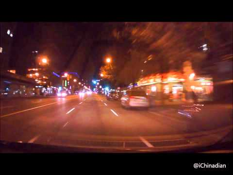 Driving in Vancouver 5 (Night Time)