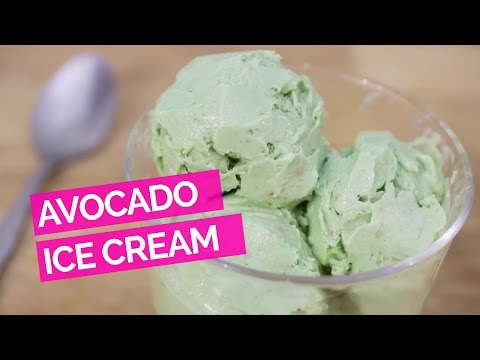 3 Ingredient Avocado Ice Cream (No Machine)