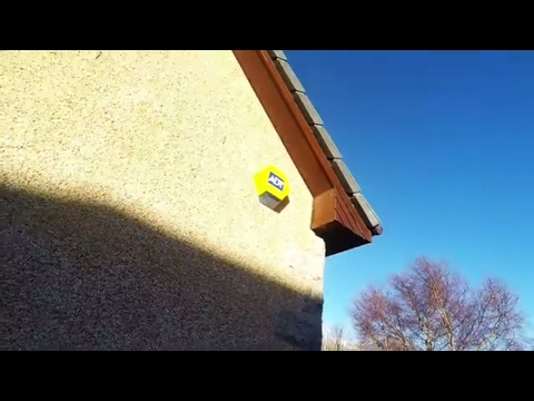 We take a day off work so that we can get our new ADT security system fitted