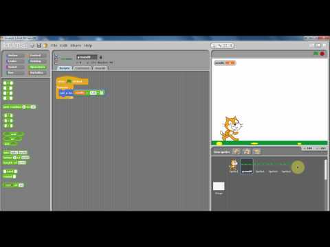 Scratch - How to Make a Scrolling Game