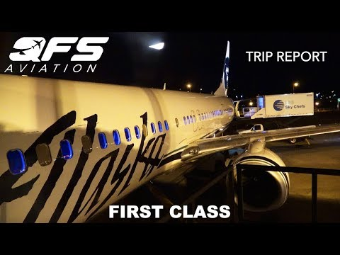 TRIP REPORT   Alaska Airlines - 737 900 - Seattle (SEA) to New York (JFK)   First Class