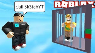 JAILED FOR CHEATING IN ROBLOX