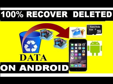 Easiest way to recover deleted data from android phone without using PC