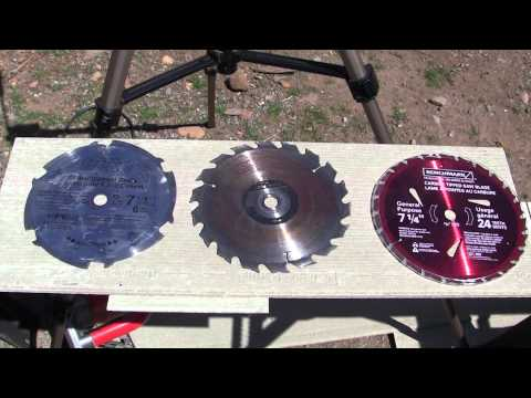 Rip off Fiber Cement Saw Blade