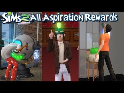 The Sims 2 All Aspiration Rewards