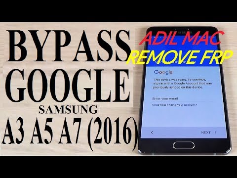 samsung galaxy A3 2016 Bypass Google Account FRP