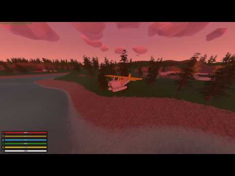 How to properly fly a plane in Unturned
