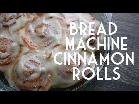 Bread Machine Cinnamon Rolls // Pinterest Friday