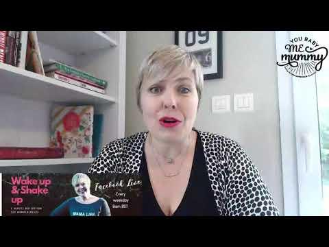 Wake Up & Shake Up 5 mins of motivation for Mamapreneurs #1