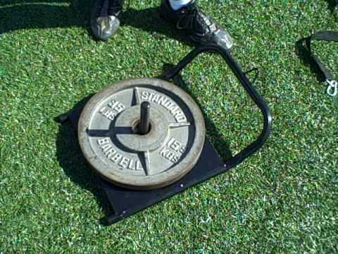 Resistance Speed Power Sled Training for Football Soccer Lacrosse