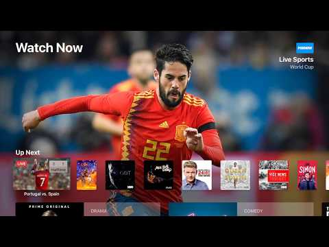 Live Sports on Apple TV  & FIFA World Cup 2018 Guide