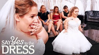 3 Foot Bride Gets Emotional After Finding the Dress of Her Dreams! | Say Yes To The Dress