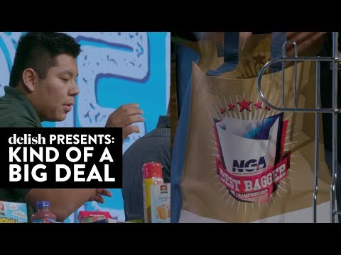 A Grocery Bagging Competition Exists — And It's Strangely Intense | Kind Of A Big Deal | Ep 7