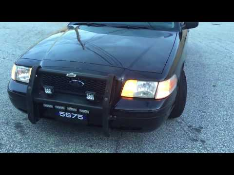 2003 Crown Victoria Police Interceptor Undercover Movie Car