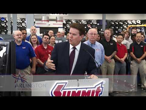 Summit Racing Texas Grand Opening (City of Arlington)