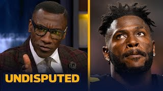 Shannon Sharpe does not see a happy end for Antonio Brown and the Steelers | NFL | UNDISPUTED