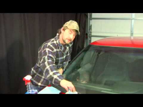How to Repair Windshield Scratches