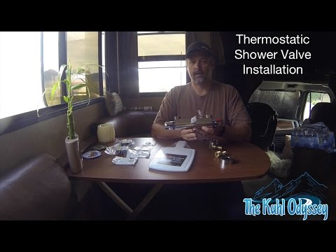 Thermostatic Shower Valve Install in an RV