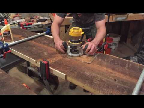 Reclaimed Wood Trestle Table Build, Part 3