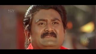 Doddanna catches Komal red Handed Comedy Scenes   Kannada Comedy Scenes   Sevanthi Sevanthi Movie