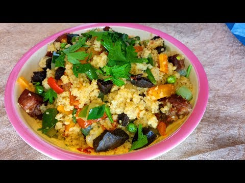 Healthy Vegetable Couscous recipe: How to make spicy Beef Couscous