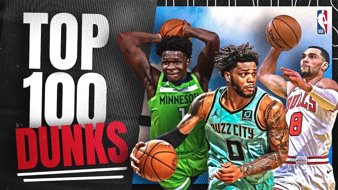 TOP 100 DUNKS THIS SEASON!!!